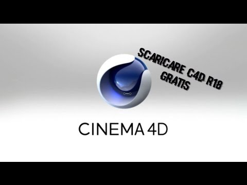 come scaricare cinema 4d r18 gratis per windows (no utorrent)