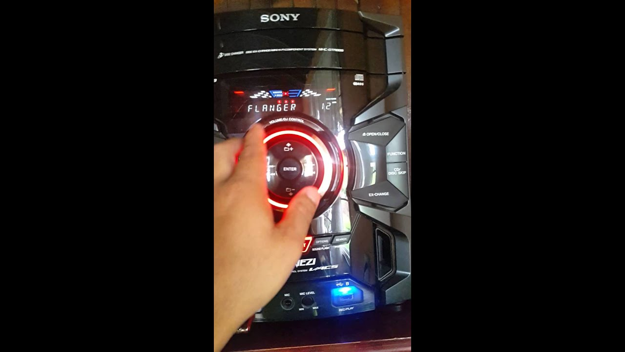 Sony Genezy Mhc Gtr88