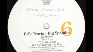 Erik Travis - Big Spender