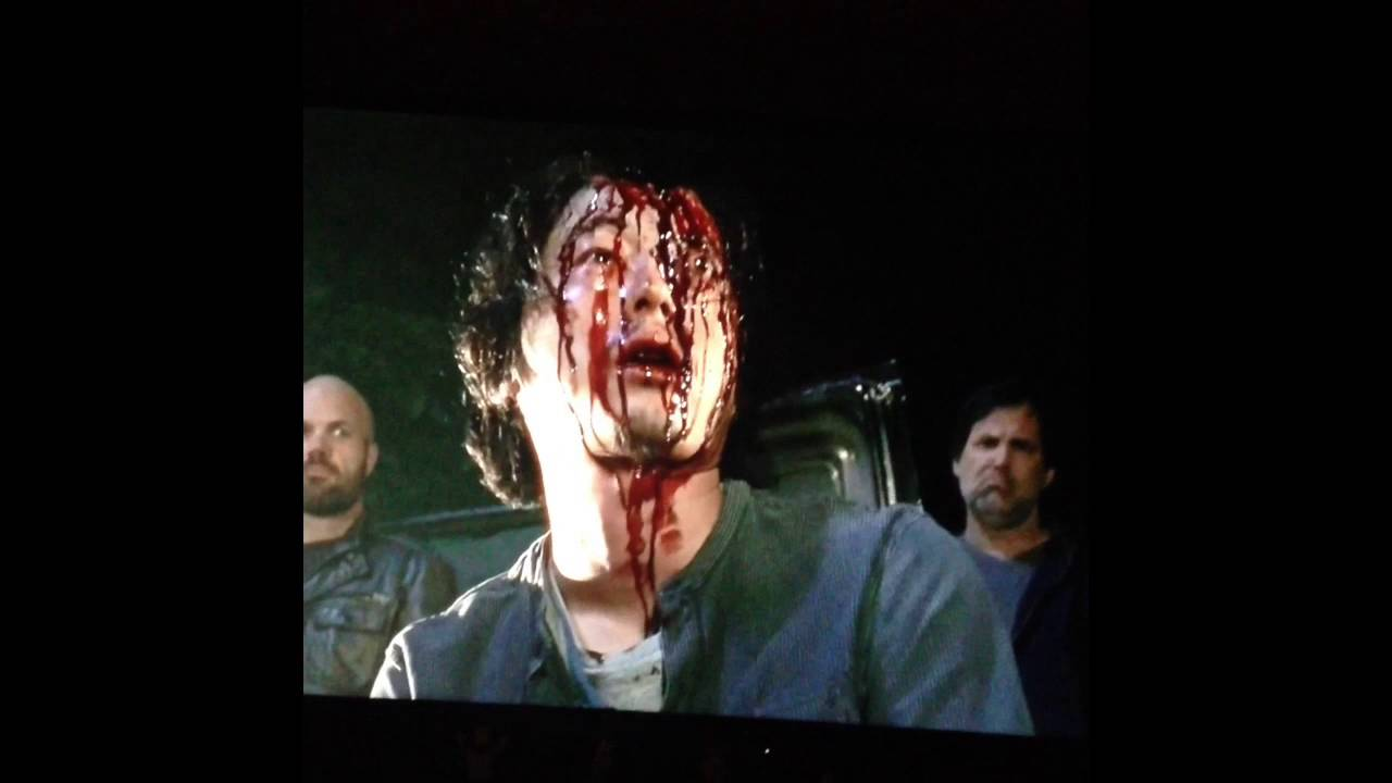 The Walking Dead Glenn Dies