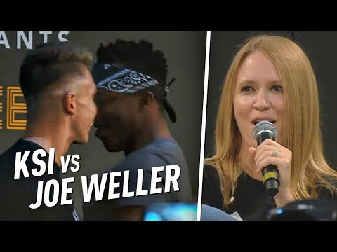 KSI AND JOE WELLER GOT IN A FIGHT IN FRONT OF ME!