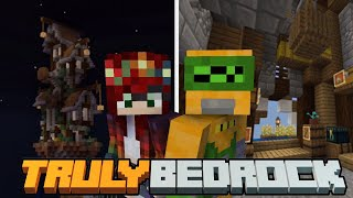Our Shop is finally Finished! Truly Bedrock SMP | Season 1