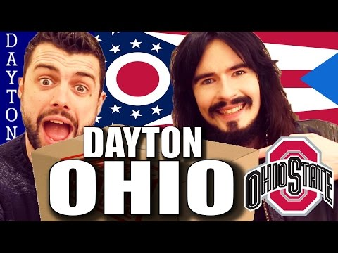 Irish People Taste Test 'Dayton OHIO' - (( Food / Snacks )) - UnBoxing!!