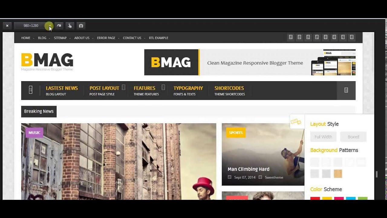 Ausgezeichnet Blogspot Magazin Vorlage Bilder - Beispiel ...