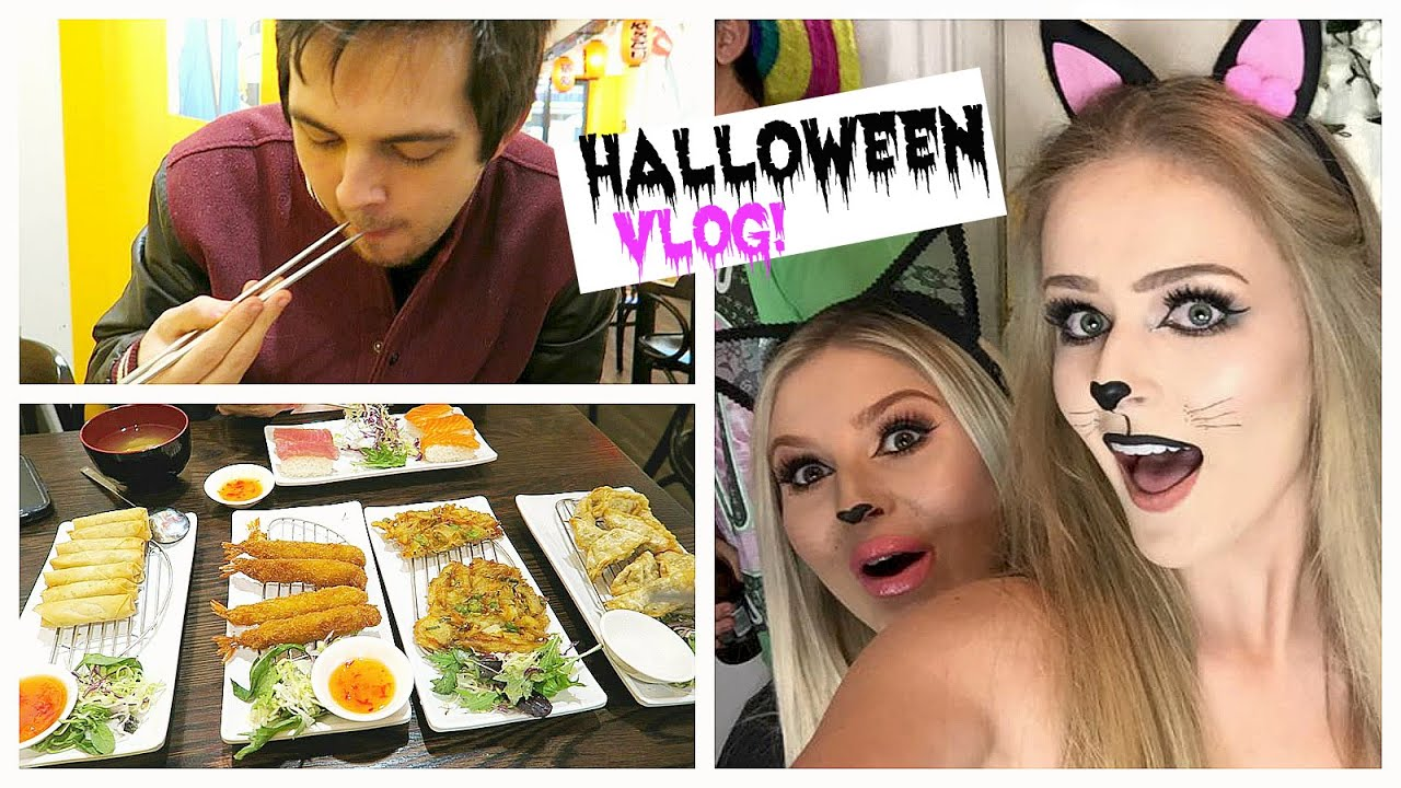 Download VLOG | Halloween Party + Japanese Food!