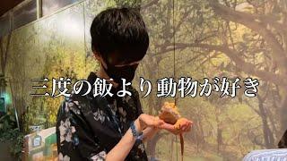 【Vlog】昔動物園の飼育員が夢だった語彙力無い男と行くふれあい動物園 in神奈川