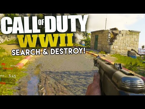 SEARCH AND DESTROY 5 vs 5 - Call of Duty WW2