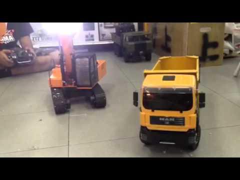 Test 8x8 dump / Test excavator hydrolic: Concepttoy shop Th