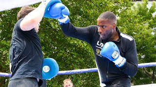 Lawrence Okolie OUT THE CAGE | Matchroom Boxing Public Workout