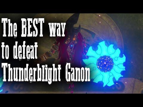 The BEST way to defeat Thunderblight Ganon - Vah Neboris