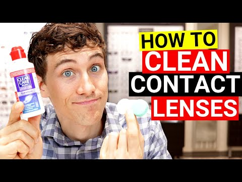 How To Clean Soft Contact Lenses And Contact Lens Case