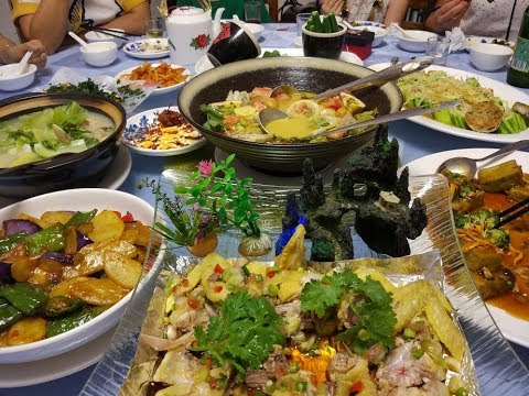 Chinese cuisine from Shaanxi Province, Chongqing City and Dongbei region