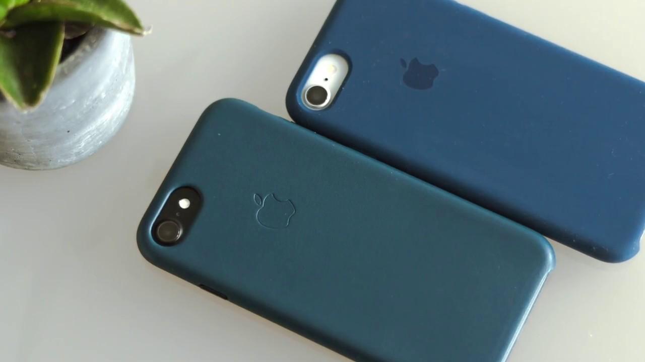 the best attitude ea867 21ef5 REVIEW: Apple Case Kobaltblau & Kosmosblau (Herbst 2017) für das iPhone 8 &  iPhone 7 (schwarz/weiß)