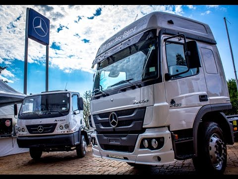 Lançamento do novo modelo Atego 2430 Econfort da Mercedes-Benz