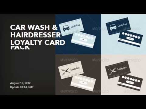 20 Loyalty Cards Invites Templates