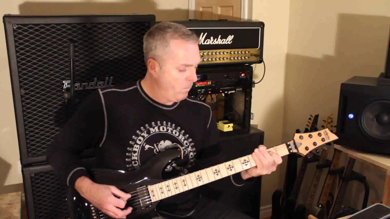 How To Play Jeff Loomis Guitar Part In Arch Enemy The Eagle