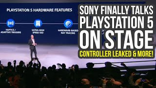 Sony Finally Talks About PlayStation 5 On Stage & Controller Leaked (PS5 News)