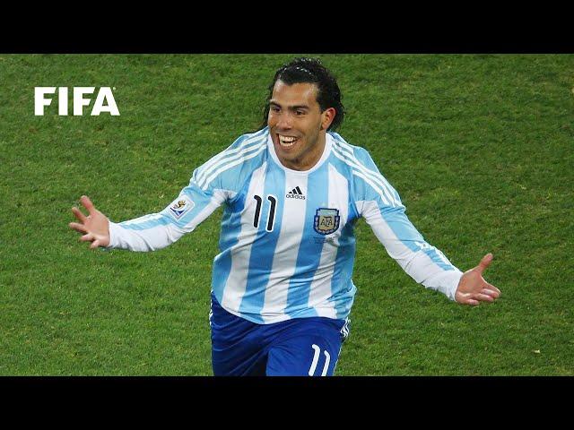 Carlos Tevez goal vs Mexico | ALL THE ANGLES | 2010 FIFA World Cup
