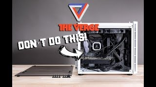 How The Verge built a $2000 custom gaming PC WRONG!