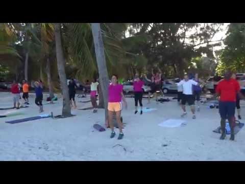 Outdoor Fitness Bahamas 100 Jacks 5 pm class