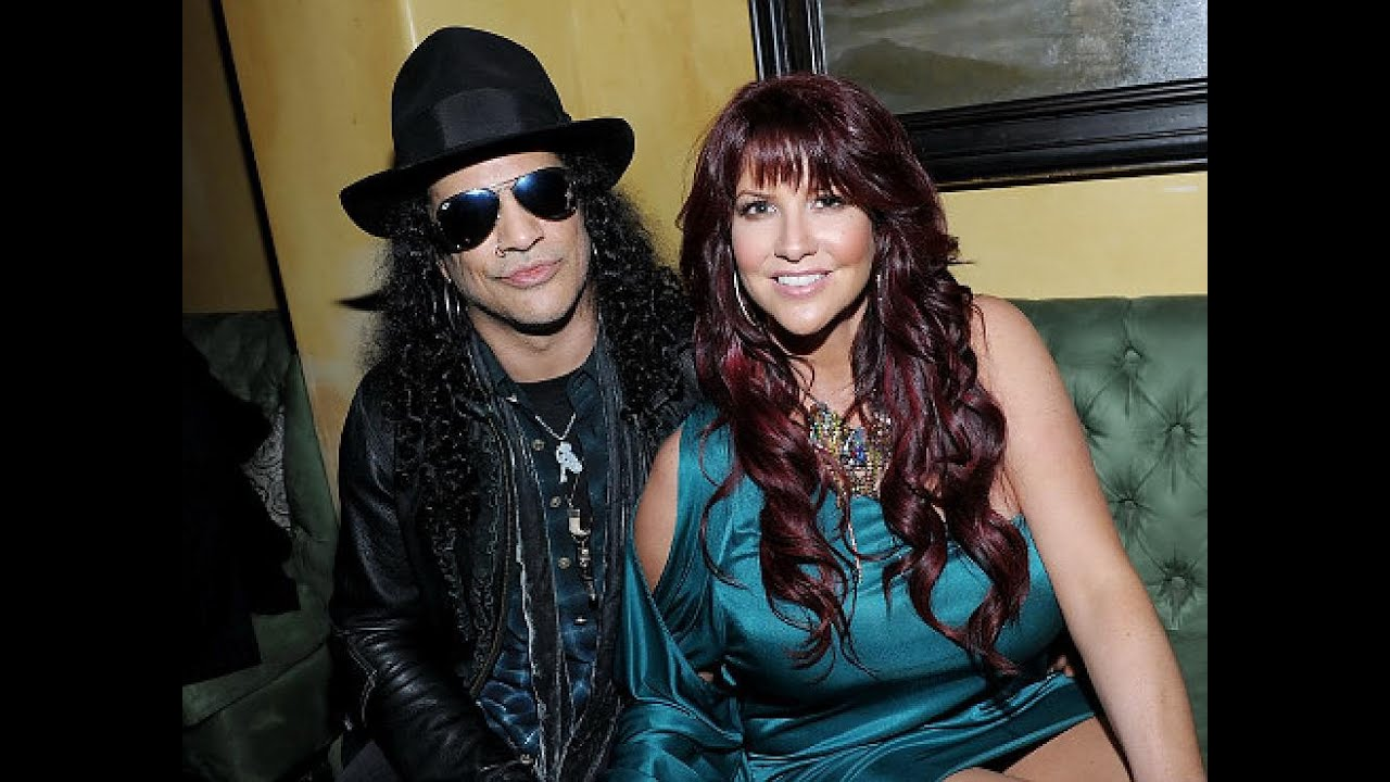 being with a metal superstar slash and perla reportedly