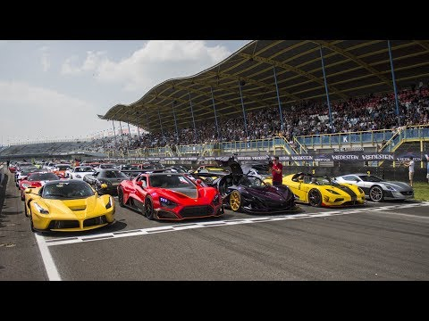 $50 Million+ HYPERCAR GATHERING! 4x Koenigsegg, Centenario, Apollo, Zenvo TSR-S ETC! LOUD SOUNDS