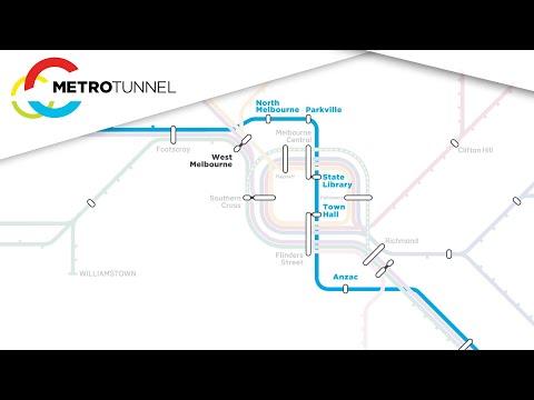 Metro Tunnel Station Names