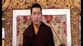 HH Karmapa - The Four Seals of Dharma 10-12.avi