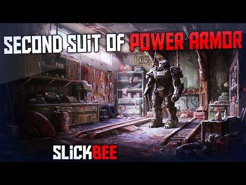 Fallout 4 National Guard Armory! Guns & Armor!