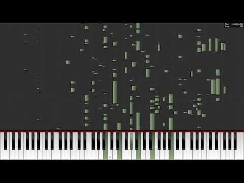 a-ha - Take On Me: Auditory Illusion (MIDI PIANO COVER) HEAR LYRICS WHEN THERE ARE NONE