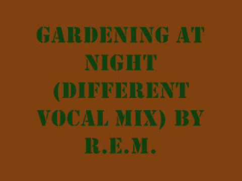 Gardening at Night by R.E.M.