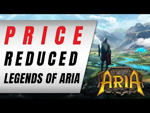 Legends of Aria's Price Reduced | Legends of Aria News