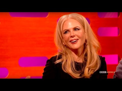 """Nicole Kidman Reacts To Her """"High Fashion"""" Photoshoot In Dolly Magazine - The Graham Norton Show"""