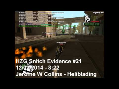 [HZG Snitch #21] Jerome W Collins - Heliblading.