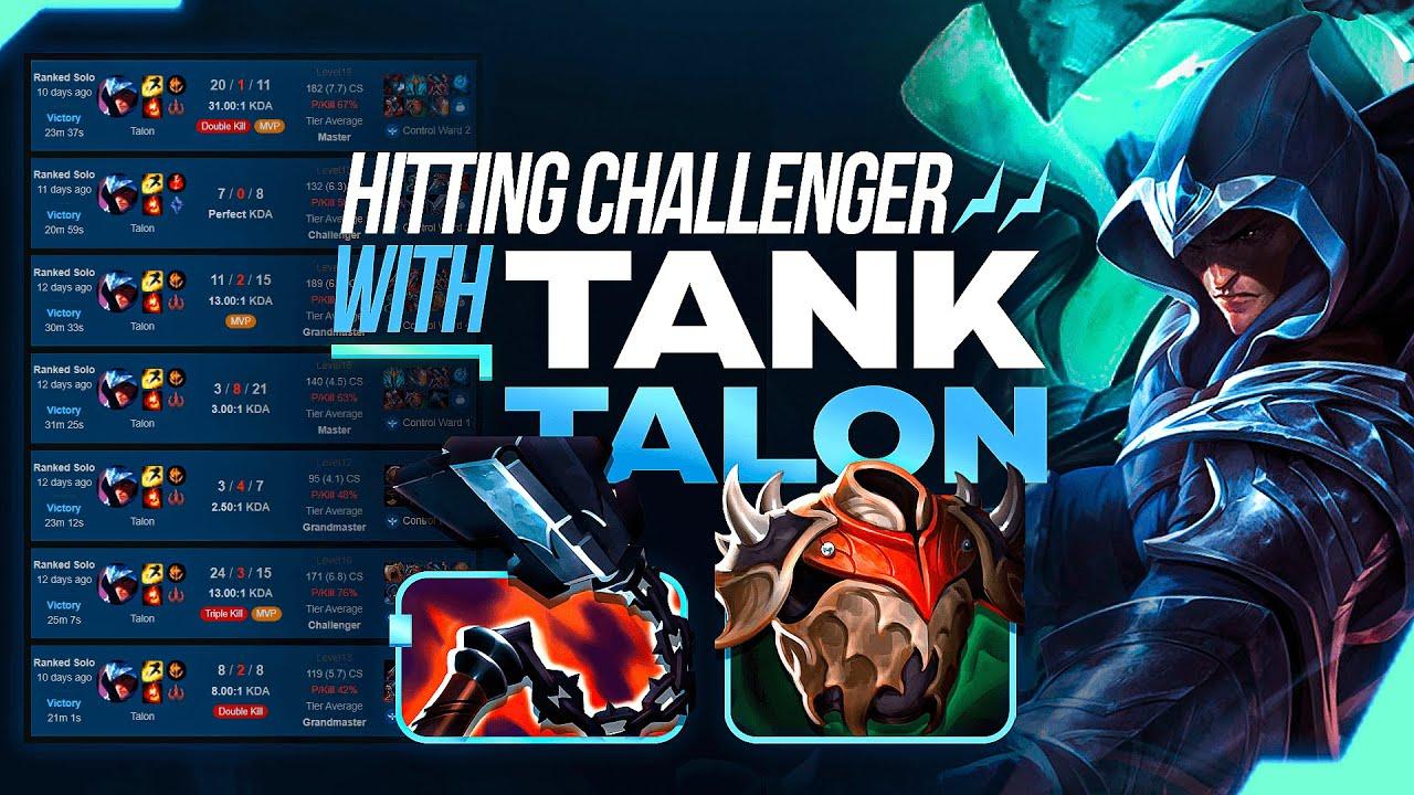 The Bruiser Talon Strategy taking over KOREAN CHALLENGER...