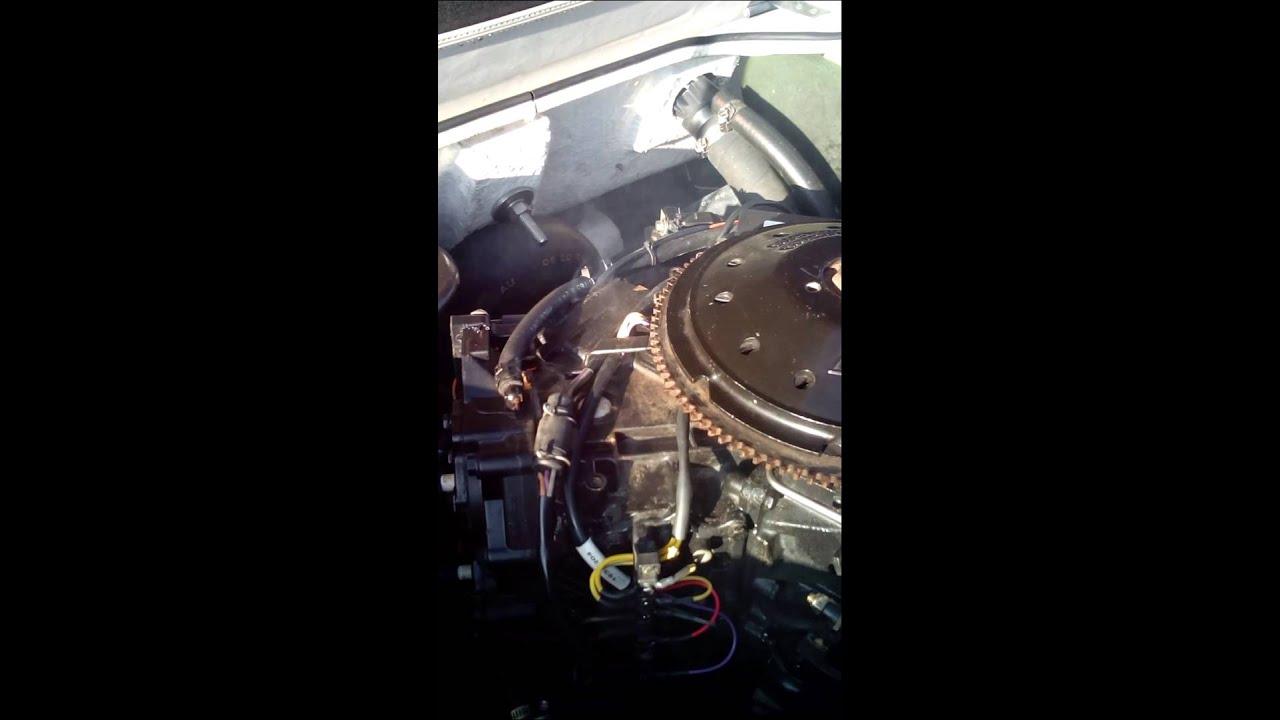 OMC Johnson 115 Turbojet Overheating / Smoking - YouTube