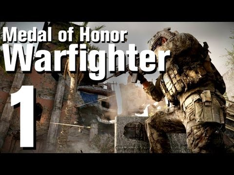 Medal of Honor: Warfighter Walkthrough Part 1 - Chapter 1: Preacher