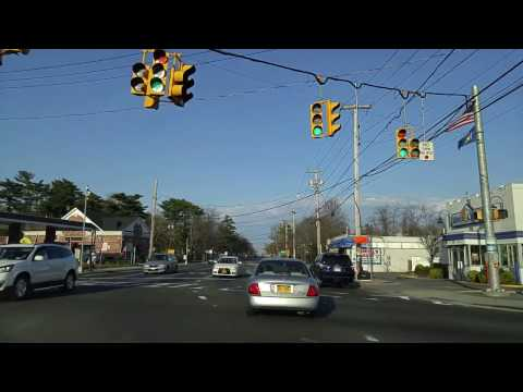 Driving from Brentwood to Central Islip in Suffolk,New York