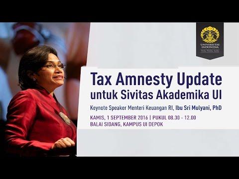 Tax Amnesty Update