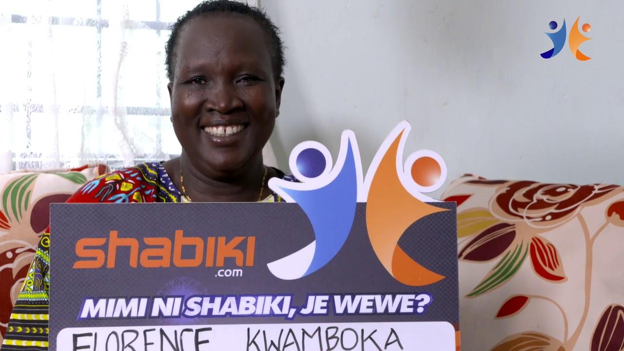 shabiki Jackpot Mbao 036 Winner - Florence Kwamboka