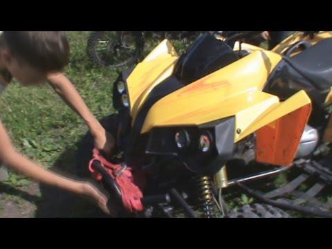 квадроцикл motax atv a-55 125 сс обзор и тест-драйв (ATV 125)