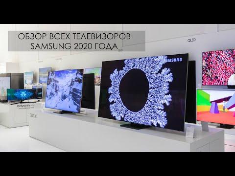 Обзор телевизоров Samsung 2020 года