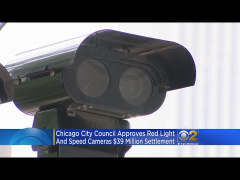 Chicago City Council Approves Red Light Camera Settlement