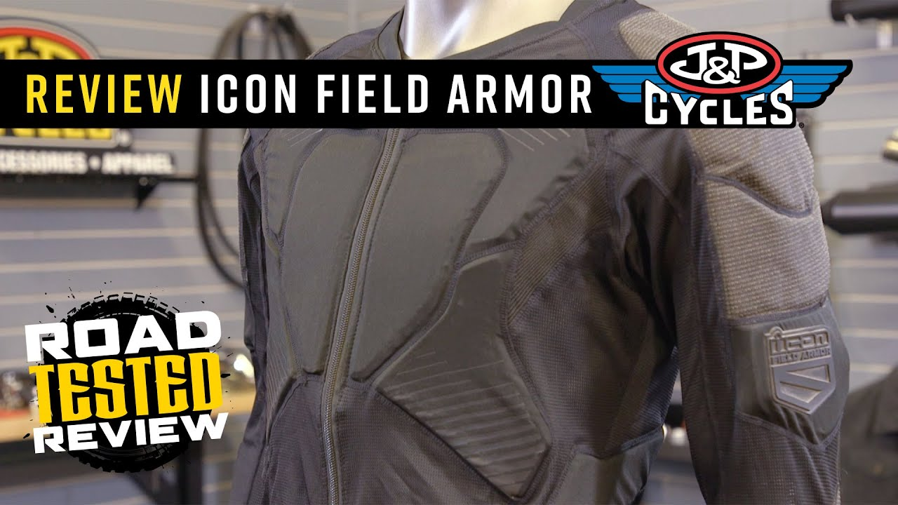Crash Tested! ICON Field Armor Compression Shirt  Road Tested Review