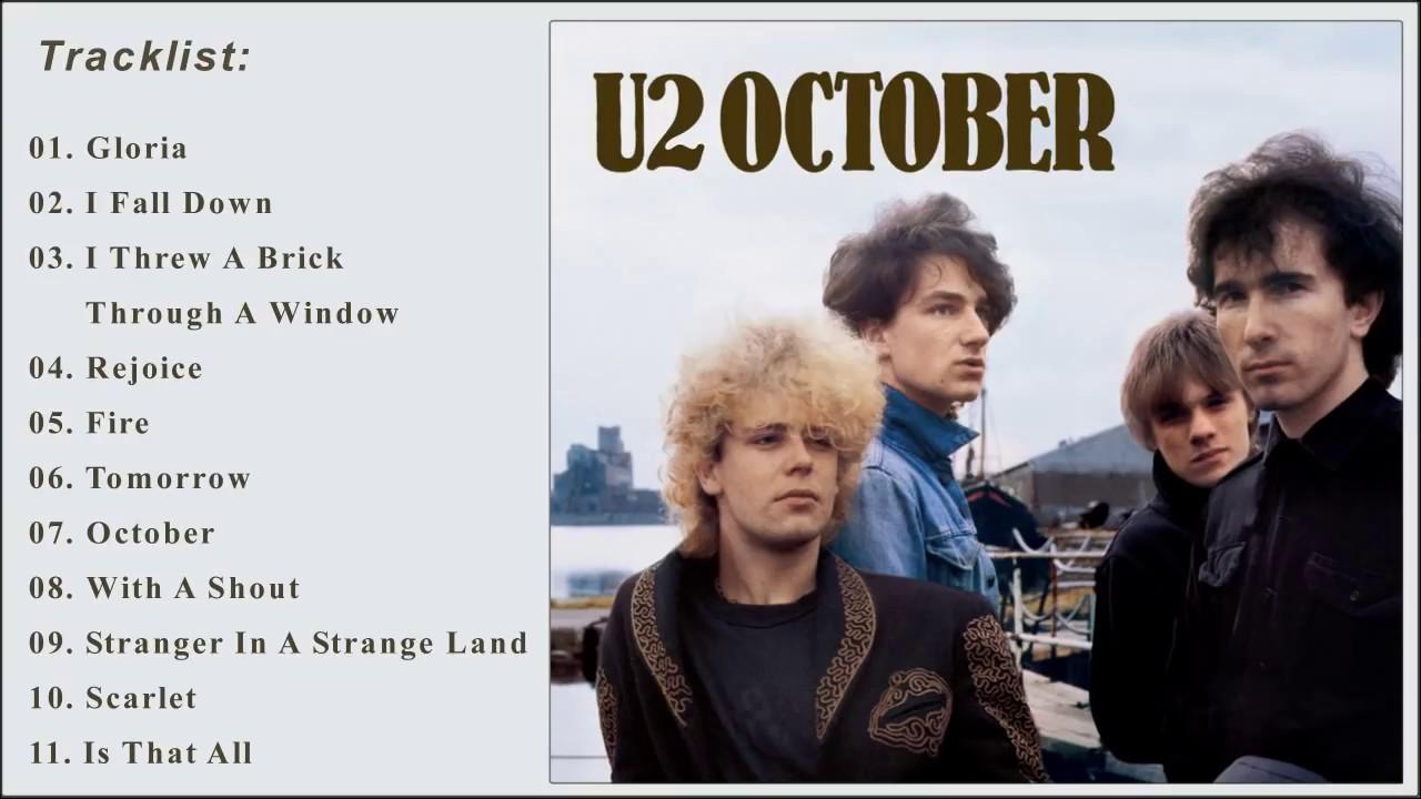 U2 (1981) - October Album - YouTube