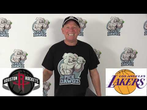 Los Angeles Lakers vs Houston Rockets 2/6/20 Free NBA Pick and Prediction NBA Betting Tips