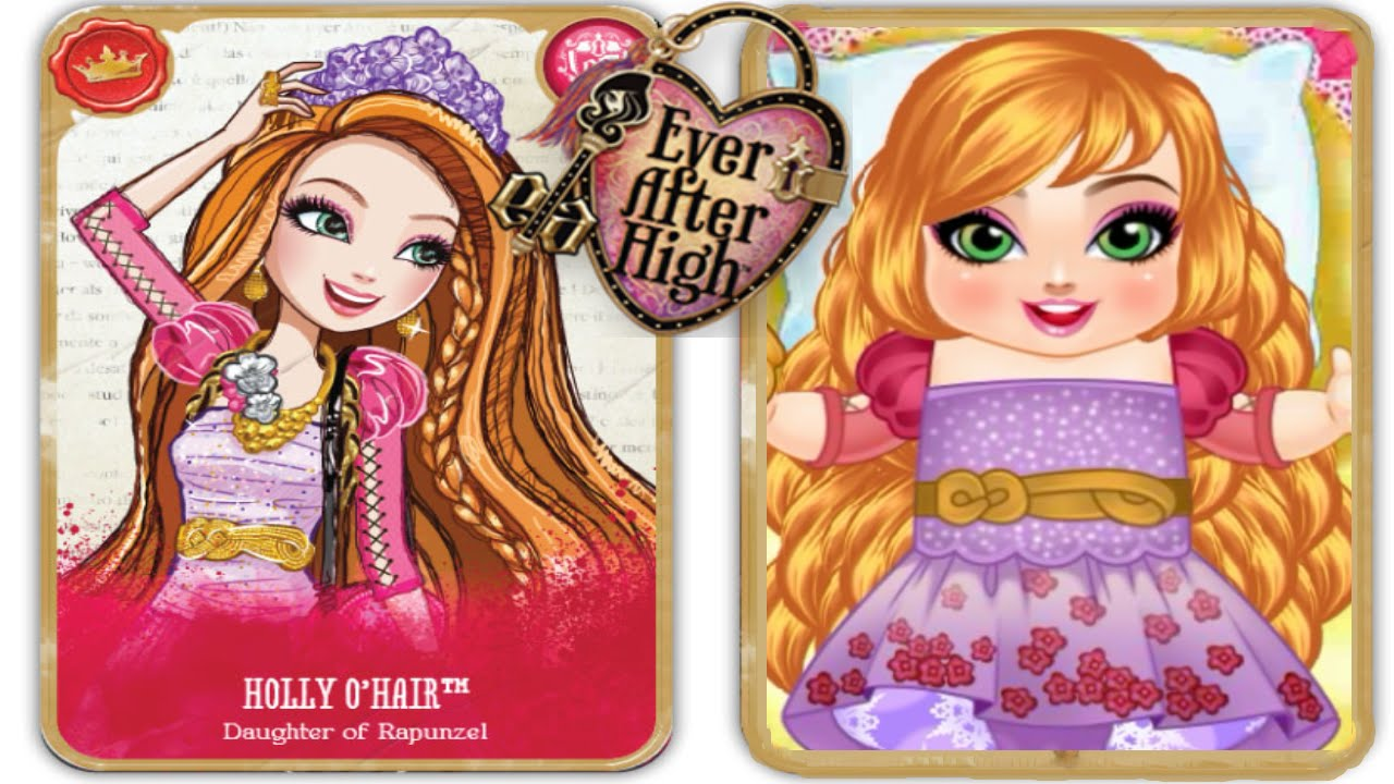 Ever After High Cute O'Hair Babies Care - Baby Video Game
