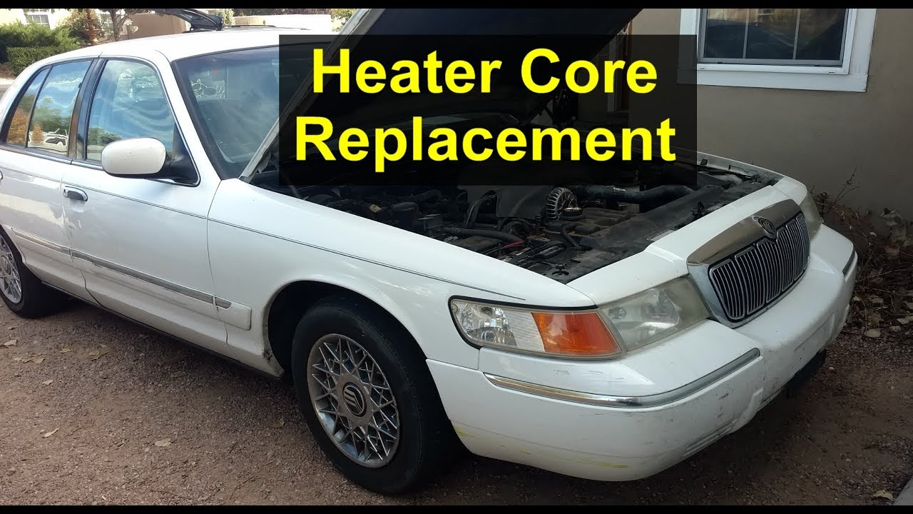 medium resolution of my experience with heater core replacement on the mercury grand marquis ford crown victoria
