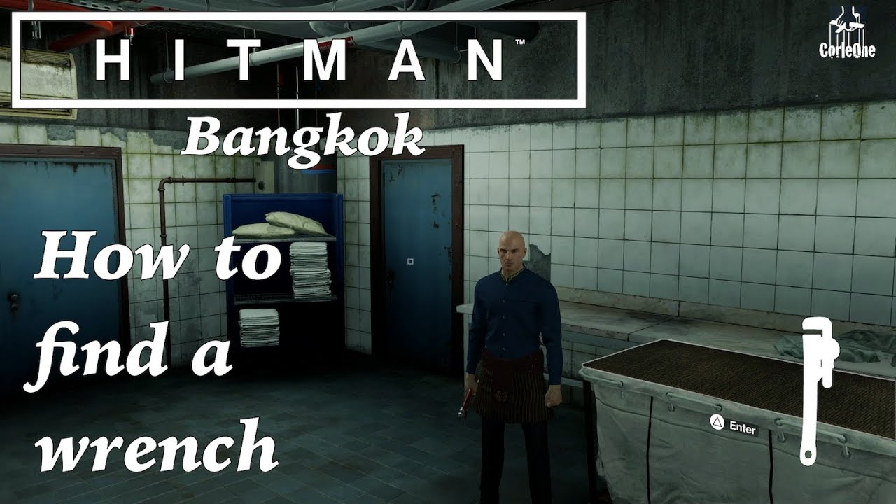 Hitman Bangkok How To Find A Wrench Youtube