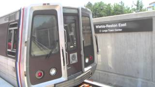 Opening of the Silver Line on the Metro in Washington DC (Day 1)